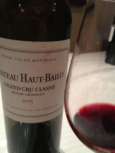A magnificent 2005 - scroll down for the tasting notes