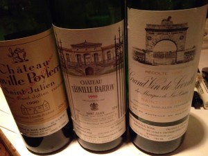 The Léoville trio: and a great one at that