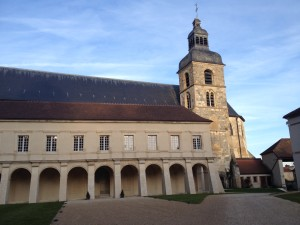 Abbey of Hautvillers: site of Dom Perignon 2004 launch