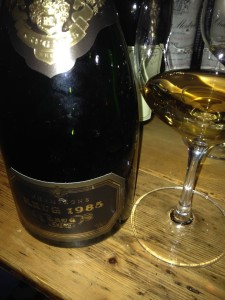 Quite a gorgeous Krug 1985