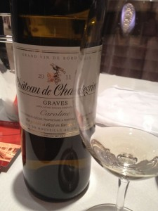 A solid dry white Bordeaux from 2011 that costs not a pretty penny!