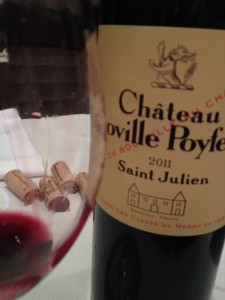 A most savory Leoville Poyferre in 2011