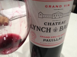 Nice job by Lynch Bages in 2011